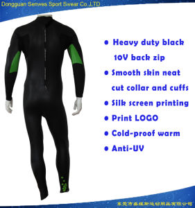 Men Smooth Skin Neoprene Printing Design Wholesale Surfing Suit pictures & photos