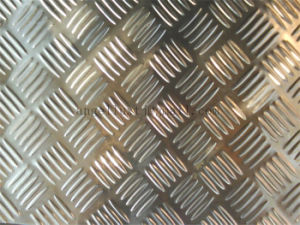 Chinese Factory Checker Plate Chequer Plate Anti-Slip Stainless Steel Plate pictures & photos