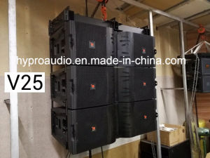 Hot Sale Model V25 Dual 15 Inch Line Array Speaker, Powerful Speaker pictures & photos