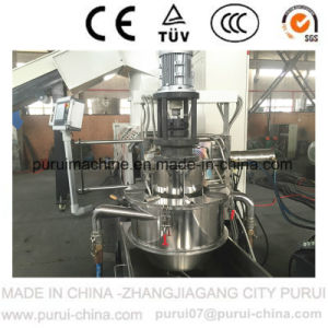 PLC Touch Screen Water Ring LDPE Film Recycling Pelletizing Line (ML85) pictures & photos