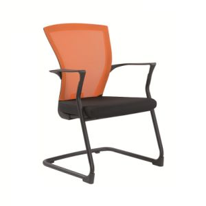 Professional Visitor Chair with Mesh Fabric Seat pictures & photos