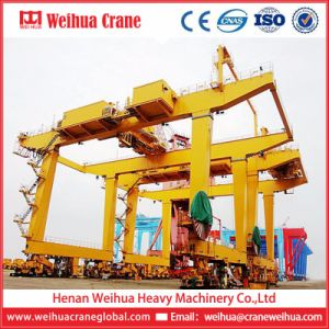Sea Port/Harbour Container Loading Gantry Crane Rtg Crane pictures & photos