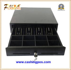 Black Cash Drawer with Steel Top Plate Secc Inside pictures & photos