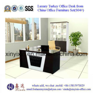 Wooden Office Furniture MFC Office Table with L-Shape(D1608#0 pictures & photos
