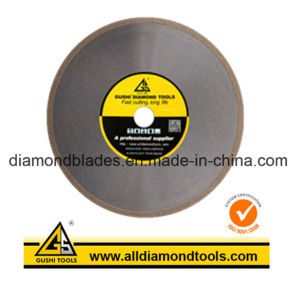 Hot Pressed  Diamond Saw Blade for Cutting  Glass Lapidary pictures & photos