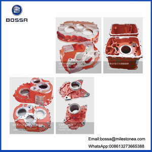 Custom Ductile Iron Cast Worm Steering Gear Housing with Box Design pictures & photos