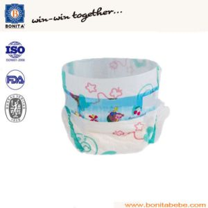 100% Cotton high Absorbent Disposable Baby Diaper pictures & photos