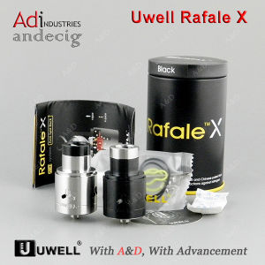 2017 New Arrival Black & Silver Original Uwell Rafale X Rda a&D Stock with Best Wholesale Price pictures & photos