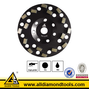 China Manufacturer Dotted Star Segment Diamond Grinding Wheels pictures & photos