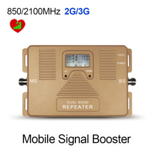 Dual Band 850/2100MHz 2g, 3G Mobile Signal Booster pictures & photos