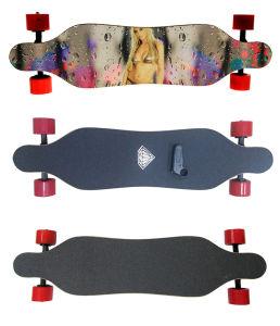 4 Wheel Electric Mini Longboard Skateboard pictures & photos