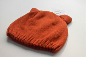 Deer Horn Shaped Winter Fashion Knitted Children Hat pictures & photos