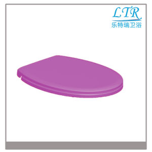 Hight Quality Cushion Bathroom Elongated Toilet Seat pictures & photos
