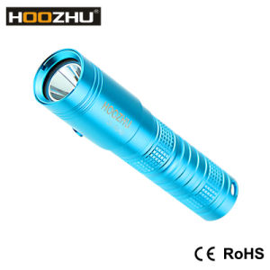 Hoozhu U10 Mini Diving Light CREE Xml-2 U2 LED Max 900lm Underwater 80m LED Flashlight pictures & photos