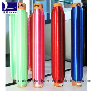 Dope Dyed Polyester Yarn Monofilament 40d/2f pictures & photos