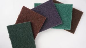 Strong Cleaning Abrasive Scouring Pad Cleaning Pad Kitchen Cleaning Products pictures & photos