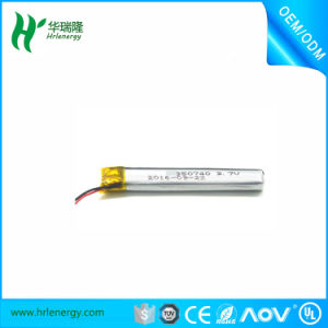Small Lithium 80mAh Battery 3.7V 400932 pictures & photos