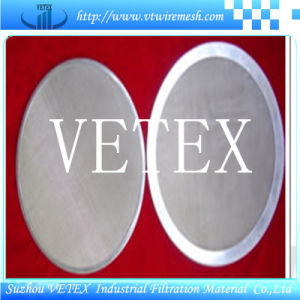 Filter Disc with Plain Weave pictures & photos