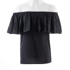 Women Wear off Shoulder Blouse 2017 Latest Fashion Top Design pictures & photos
