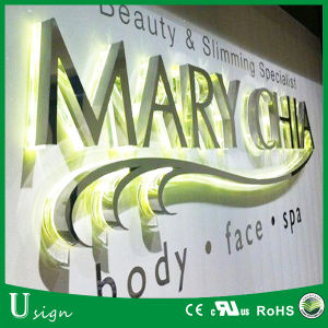 Outdoor Large LED Letters Stainless Steel Signs LED Illuminated Channel Letters pictures & photos