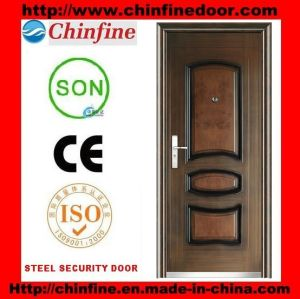 2017 High Quality New Popular Door Steel Security Door (CF-129) pictures & photos