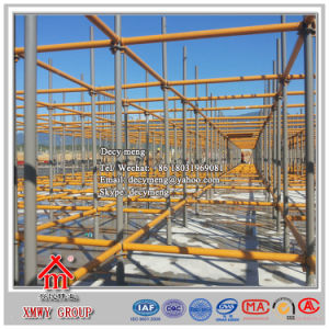 Paint Quicklock Scaffolding System pictures & photos
