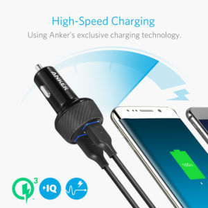 Anker 39W 2-Port Car Charger with Quick Charge 3.0 pictures & photos