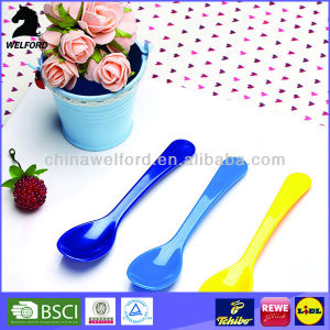 BPA Free Reusable Spoon for Children Plastic Baby Spoon