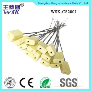 Adjustable Self-Locking Bar Code Print Container Cable Seal pictures & photos