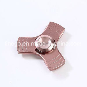 Manufacture Colorful Alloy Metal Fidget Rolling Finger Hand Toys Spinner pictures & photos