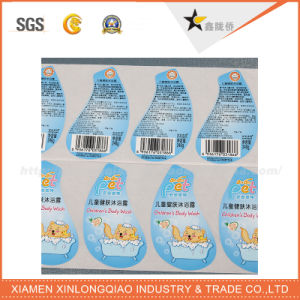 Self-Adhesive Printed Paper Label Printing Decal Service Food Sticker pictures & photos