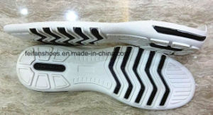 Outdoor Fashion Shoes Light and Leisure TPR Outsole (NL1230-2) pictures & photos