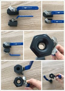 Wcb 1PC Full Port Hex Ball Valve 3000wog pictures & photos