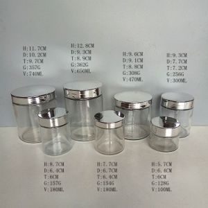 Cylinder Round Glass Candle Containers/Holders/Jars 4oz 5oz 10oz 16oz 24oz pictures & photos