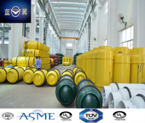 800L Carbon Steel Welded Gas Cylinder for Ammonia, Chlorine