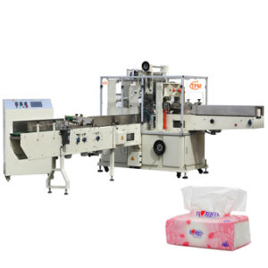 Soft Draw Tissue Paper Wrapping Packing Machine pictures & photos