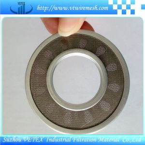 Stainless Steel Sintered Filter Disc pictures & photos