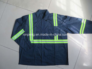 100% Polyester Reflective High Visibility Safety Jacket pictures & photos