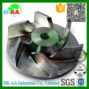 High Performance 5-Axis Simultaneous Motion CNC Turning Milling Turbo Billet Compressor Wheel pictures & photos
