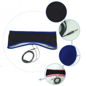 Lycra Fabric Sport Earphone Headband Mask Headset Sleeping Headphone pictures & photos