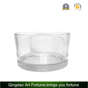 Big Printed Glass Candle Holder for Candle and Flora Decor pictures & photos