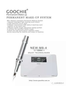 M8-III Permanent Makeup Machine Professional Tattoo Kits pictures & photos