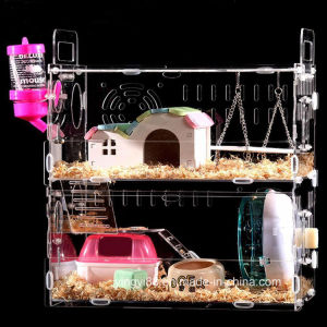Best Selling Acrylic Hamster Cage for Sale pictures & photos