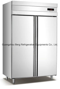 Glass Door Storage Cabinets Freezer- (GN600BTG) pictures & photos