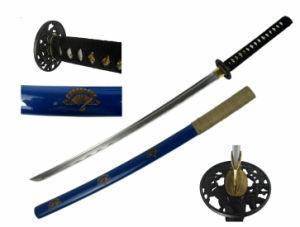 Handmade Katana Blue Katana Sword HK093 pictures & photos