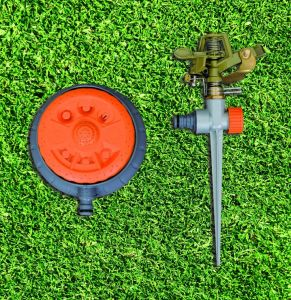 Garden Watering Tools Full/Part Circle Metal Spike Impulse Sprinkler pictures & photos
