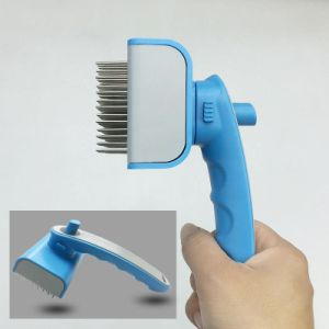 Blue and White Pet Brush pictures & photos