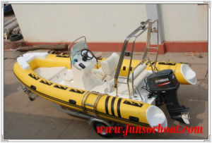 1.2mm South Korea PVC Rigid-Hulled Inflatable Boat (RIB-520) pictures & photos