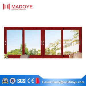 Cheap Metal Double Glazing Sliding Window pictures & photos
