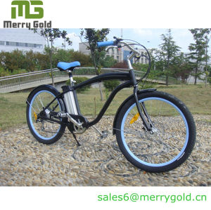 Ce Approved Electric Bicycle Men Cruiser pictures & photos
